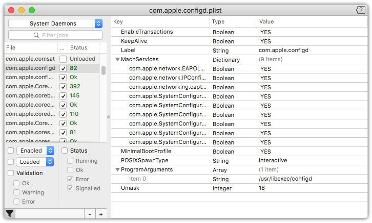 LaunchControl for Mac 1.39 破解版 - Launchd辅助工具